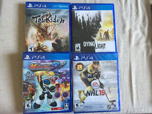 PS3 and PS4 Games for sale or trade