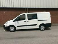 2013 Citroen Dispatch 1200 2.0 HDi 120 H1 L2 LWB CREW VAN WINDOW VAN Diesel Man