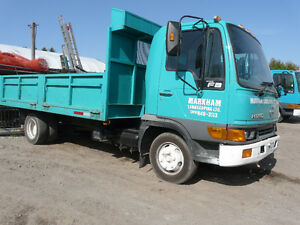 2001 Toyota Dump Truck with Tool Box