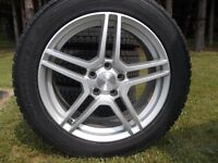 Like New WinterTires & Rims 235-55-18 & they have Tire Sensors