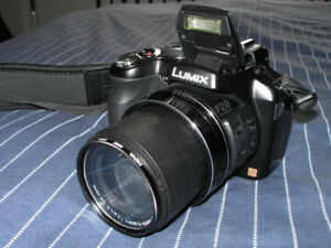 Panasonic Lumix DMC-FZ200 expert bridge and accessories