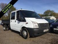 2012 12 FORD TRANSIT 2.2 TDCI T350 TIPPER DOUBLE CAB 99 BHP***NO VAT*** DIESEL