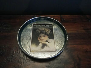 Vintage Ladies Home Journal Metal Serving Tray