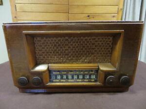 RADIO RCA VICTOR 1940'S ANCIEN ANTIQUE
