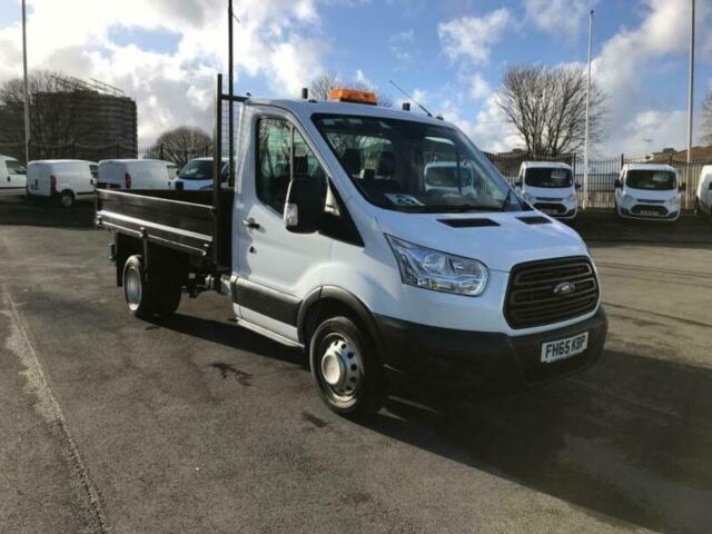 504e262a03 Ford Transit 2.2 TDCI 125PS Single Cab Tipper Euro 5 DIESEL MANUAL WHITE ( 2016)