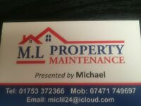 ML Property Maintenance services
