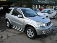 Toyota RAV4 2.0 D-4D NRG DIESEL 4X4 FULL MOT 2004 FULL LEATHER