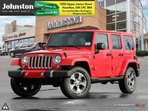 2018 Jeep Wrangler Unlimited Sahara  - Navigation - $148.36 /Wk