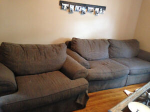 Big comfy couch and chair set