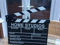 Large clapper board