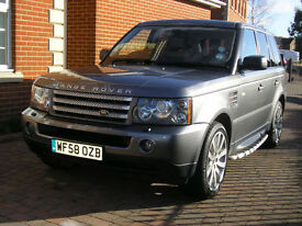 Land Rover Range Rover Sport 2.7TD V6 HSE Auto 2009 Cream Leather