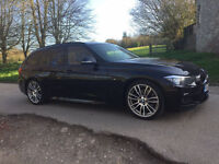 Bmw 3-Series 330d M-Sport Touring Automatic HPi Clear 5dr Black