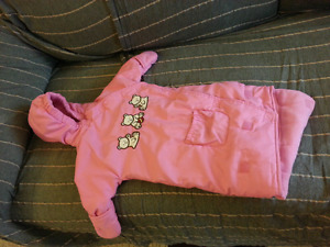 Baby bunting bag/snow suit 18 lb