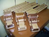 Tractor Trailer Cribbage Boards