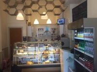 Coffee shop for sale running (price reduced)