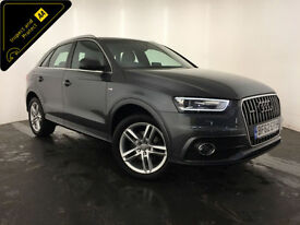 2012 62 AUDI Q3 S LINE TDI QUATTRO AUTO DIESEL ESTATE FINANCE PX WELCOME