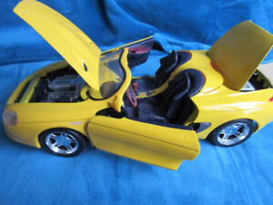 DIE CAST - MUSTANG - YELLOW -EXTREMELY RARE