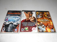 3 Sony PSP Games