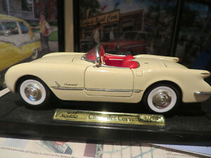 1953 Corvette Convertible--1:18 scale diecast car