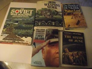Military Books Lot Of Five