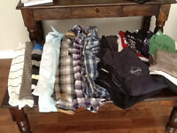 Men's clothing 20 pieces. Oakley,Hurley soa, roots, tommy,levi