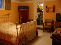 FULLY FURNISHED TWO BEDROOM BASEMENT SUITE