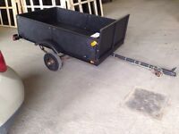 Registered 4' x 6' Wired Utility Trailer