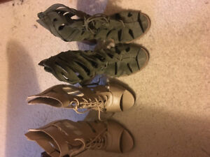 Selling a variety of heels for 25 dollars each