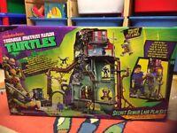 Teenage mutant ninja turtles secret seer lair playset