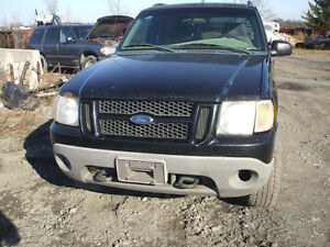 PARTS AVAILABLE FOR A 2001 FORD EXPLORER