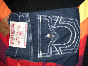 """""""Billy Super T"""" True Religion Jeans for sale!! Row 32 Seat 33"""