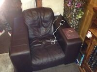 chair and settee