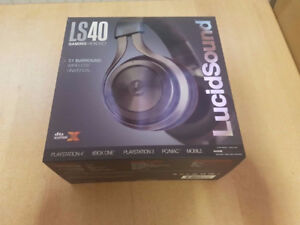 NEW LucidSound LS40 gaming and mobile headset with boom mic