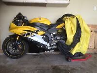 2006 Yamaha R6 - Yellow (8342 Kms)