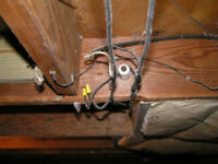 EXPERT LICENSED OLD KNOB & TUBE WIRE REMOVAL