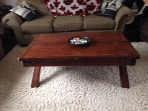 Coffee table w/2 end tables and sofa table