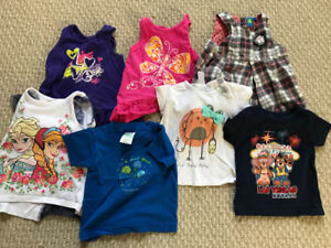 Huge lot of 12-18 month girls clothing