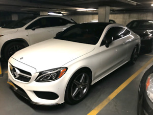Lease transfer: Fully loaded 2017 Mercedes-Benz  W205 C300 Coupe