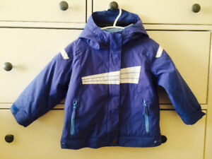 Columbia Snowsuit and Puma Winter Boots