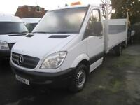 63 REG Mercedes-Benz Sprinter 2.1TD 313CDI LWB 14 FOOT ALLOY PICKUP WITH TAILIFT