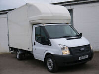 FORD TRANSIT 2.2 350 JUMBO LUTON BOX TAIL LIFT DELIVERY LOGISTICS REMOVALS VAN