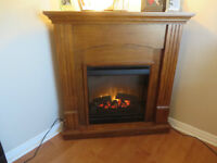 FOR SALE DIMPLEX ELECTRIC CORNER FIREPLACE