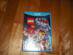 Lego Movie Nintendo Wii U Bonne Condition
