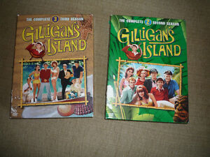 Classic TV DVD SETS including Gilligan's Island Seasons 2 + 3