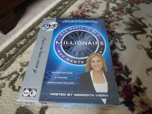 Who Wants to be a Millionaire DVD New Game Sealed .