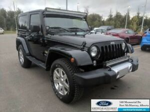 2015 Jeep Wrangler Sahara|3.6L|Connectivity Group|Nav|Rem Start