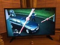 """LG 32"""" LED TV - ONLY THREE MONTHS OLD"""