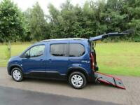 2021 Peugeot Rifter 1.5 Hdi WHEELCHAIR ACCESSIBLE DISABLED VEHICLE WAV MPV Diese