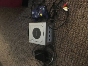 GameCube and controller
