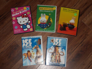 HELLO KITTY, MIFFY AND ICE AGE  *$10 FOR ALL*